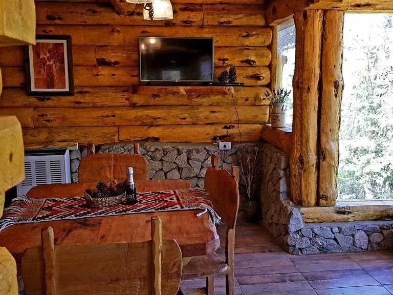 Cabañas El Bosque - Living